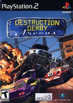 Destruction Derby Arenas Sony Playstation 2 Game