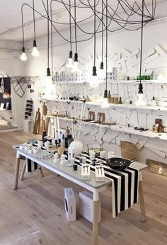 The lofty interior of Showroom, a retail concept store located in Brisbane. Photo – Mindi Cooke for The Design Files.   living    Design Files, Show…