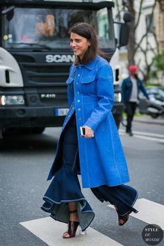 Paris Fashion Week Fall 2017 Street Style: Georgia Tal
