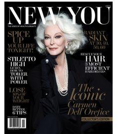 Como é bom ver notícias como essa, não é mesmo? A nova-iorquina Carmen Dell Orefice foi capa da Vogue...