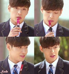 "Kang Ha Neul in ""The Heirs"" series Asian Actors, Korean Actors, Korean Dramas, Korean Star, Korean Men, Kang Haneul, Bts Korea, Netflix, Kim Ji Won"