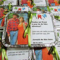 Lembrancinha para festa junina - marmitinha para os doces