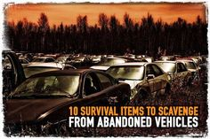 10 Survival Items to Scavenge from Abandoned Vehicles