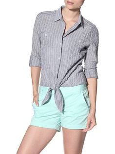 Drew Women's Paula Button Down Top with Tie, http://www.myhabit.com/redirect?url=http%3A%2F%2Fwww.myhabit.com%2F%3F%23page%3Dd%26dept%3Dwomen%26sale%3DAXUX78850B0W1%26asin%3DB00ADDGWRE%26cAsin%3DB00ADDH0IE