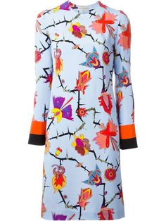 Shop Emilio Pucci floral print shift dress in Luisa World from the world's best independent boutiques at farfetch.com. Shop 400 boutiques at one address.