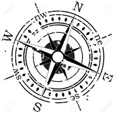 Grunge Compass Royalty Free Cliparts, Vectors, And Stock ...