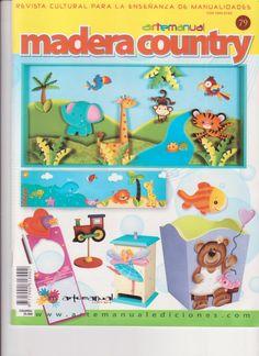 Revistas De Manualidades Para Descargar Madera Country N 79