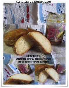 ITALIAN FOOD at ♥Fabipasticcio the recipe of this delicious gluten free dairy free, cow milk free bread with tofu silk. Try it! Zoccoletti senza glutine, senza lattosio senza latte vaccino...lupdate 2.0!