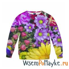 Детский свитшот 3D Роскошные цветы - интернет магазин WsemPoMayke.Ru http://wsempomayke.ru/product/child_sweatshirt/1004518  Доставка по России курьером или почтой, оплата при получении. Детский свитшот 3D Роскошные цветы купить с доставкой, оплата при получении. Посмотреть размеры и цену > http://wsempomayke.ru/product/child_sweatshirt/1004518