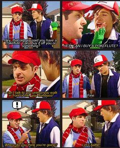 The minute I saw how perfect Anthony was as Ash, I was in love! #Smosh