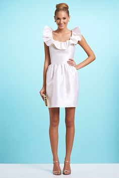 17 Best images about White Cocktail Dress on Pinterest | Confusion