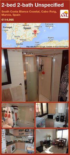2-bed 2-bath Unspecified in South Costa Blanca   Coastal, Cabo Roig, Murcia, Spain ►€114,995 #PropertyForSaleInSpain