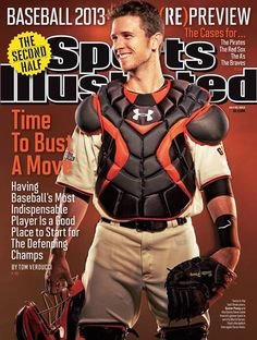 San Francisco Giants  ‪#‎MVPosey‬ featured on this week's Sports Illustrated Cover