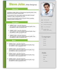 Word 2013 Resume Template Resume Format 2013 Sample  Resume Format 2013  Pinterest