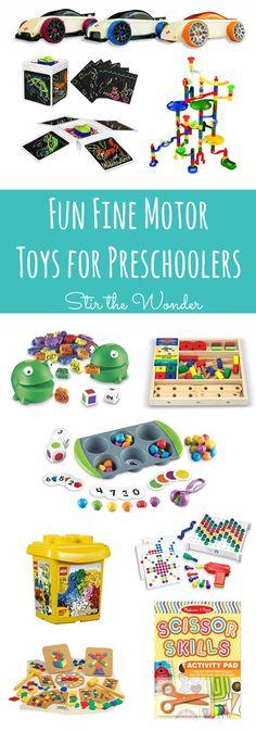 Fun Fine Motor Toys for Preschoolers   Stir the Wonder
