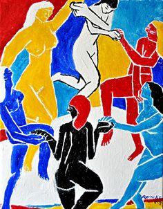 Nancy Rourke Paintings — Deaf Women