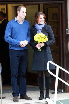 The beautiful, pregnant Princess Kate