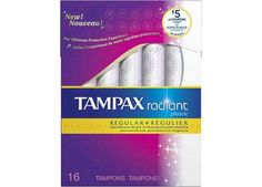 Get $2.00 off Two Tampax Radiant Tampon Products!