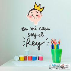 Vinilos Infantiles: En mi casa soy el Rey #pedrita #parker #vinilo #decoracion #pared