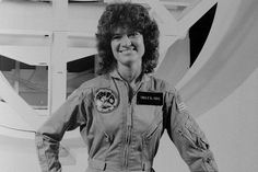 Sally Ride: The First U.S. Female #Astronaut  #space #female #women