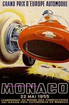 Grand Prix d'Europe automobile Monaco 1955