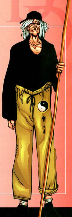 Stick (Earth-616) Stick is a brilliant blind master of martial arts. He trained both Daredevil and Elektra. Memebr of the chaste are a martial arts organization,  They stand at directly opposite the Hand.