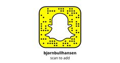 Add me on Snapchat!