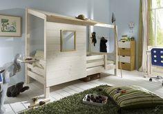 "Kinderbett ""Baumhaus"" Bett Abenteuerbett Spielbett Kinderzimmer | eBay"