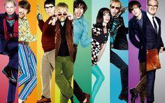 Il poster con i personaggi di 'I love Radio Rock'. #cinema #music #cultgallery #rock #cultstories