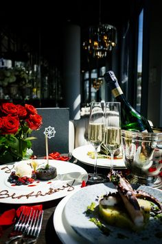 Book with us your own personalised romantic dinner