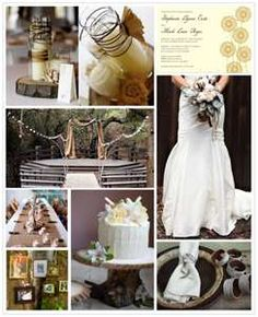 Rustic primitive wedding