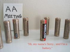 Not your typical AA meeting...