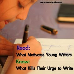 what motivates young writers