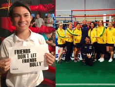 """We're super excited to announce our newest Advocate now representing Free2Luv in Australia, the world's youngest boxing referee/judge and dancer, Paulo Baingan Cruise. """"This cause is important to me because I want to make a difference in the world where people are able to be proud of who they want to be and are proud to express themselves in whatever way they want. Being a part of Free2Luv will inspire me to help others whether they are being bullied or are the ones who are bullying."""""""
