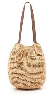 shopbop friends and family - Jasmine Elias Crochet Clutch, Crochet Purses, Crochet Bags, My Bags, Purses And Bags, Tote Handbags, Tote Bags, Beige Purses, Knitted Bags