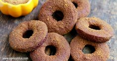 I love the fall. The crisp air. The falling leaves. The comfort foods. And yes, the pumpkin recipes. Here's my version of the pumpkin spice donuts.