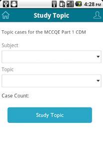 MCCQE Part 1 CDM