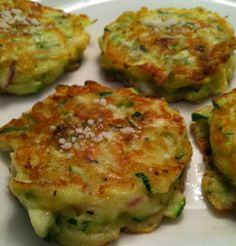Zucchini Pancakes from The Barefoot Contessa. This has been a favorite since I was a kid.