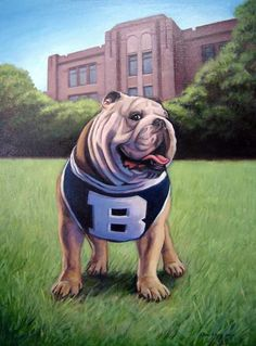 Butler's Blue II bulldog mascot celebrates his ninth birthday with 'fan farewell'