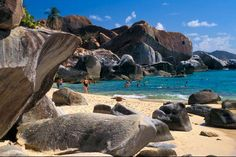 The Baths, Virgin Gorda, BVI The huge boulders are awesome....the water is so clean....a must see place!