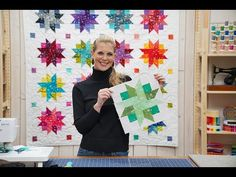 Terrific Photo star Quilting Ideas LIVE: Make a Ribbon Star Quilt with Misty Missouri Star Quilt Pattern, Missouri Star Quilt Tutorials, Msqc Tutorials, Quilting Tutorials, Quilting Ideas, Jelly Roll Quilt Patterns, Star Quilt Patterns, Texas Star, Jellyroll Quilts