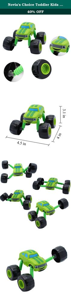Novia's Choice Toddler Kids Toy Blaze and the Monster Machines Pickle Core Vehicle Crusher Christmas Gift(Green). Product Feature : 1. Fun toddler car toy blaze and the monster machines made of plastic. 2. Size: 4.5 x 4 x 3.1 in(L*W*H), please pay attention to the size before order. 3. These monster trucks feature big wheels and even bigger personalities. 4. These die-cast vehicles are perfect for recreating the races and spectacular stunts as seen on the television show. 5. A perfect…