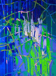 REÇETESİZ sergisi: Seçil Erel - Kuş Bakışı (8), Tuval üzerine yağlıboya, 70x52cm, 2016