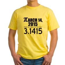 3/14/15 Yellow T-Shirt for