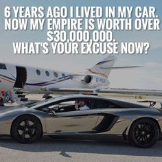 What is your excuse? @oceansky lived in his car when he was 27 years old at 33 he's amassed a multimillion dollar empire with no support or educational background. Follow him for raw motivation  @oceansky by secrets2success