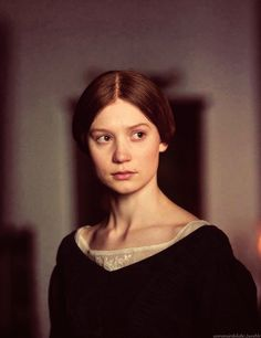 Jane Eyre (2011) - I like Ruth Wilson a lot better...but I think she looks more like Charlotte Bronte which makes her a good Jane Eyre.