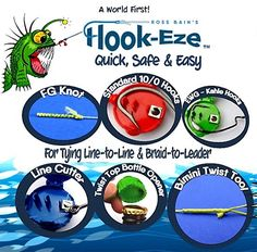 NEW+MODEL+!!+LARGE+HOOK+EZE+TWIN+PACK, $18.95