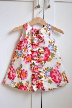 Camisa con volantes para bebe y niñas costura por AestheticNest Más