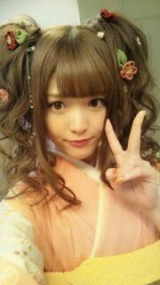 乃木坂46 (nogizaka46)  Matsumura Sayuri (松村沙友理) child ringo ~~ which do you prefer? adult Ringo or child Ringo? both i love ♥ ♥♥ ♥