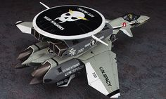 MECHA GUY: 1/72 Scale Macross7 VE-11 Thunderseeker (Early Warning Aircraft) SVAW-121 Night Stalkers New Images [Updated 05/01/2013]